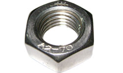 3205-TUERCA HEXAGONAL UNC ACERO INOXIDABLE A-304